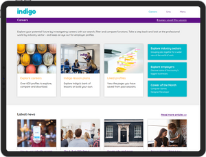 Indigo — university options and careers education from the experts