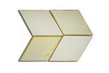Diamond Architectural Tile - Yellow Salt