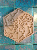 Swoon: Artist Designed Relief Tile