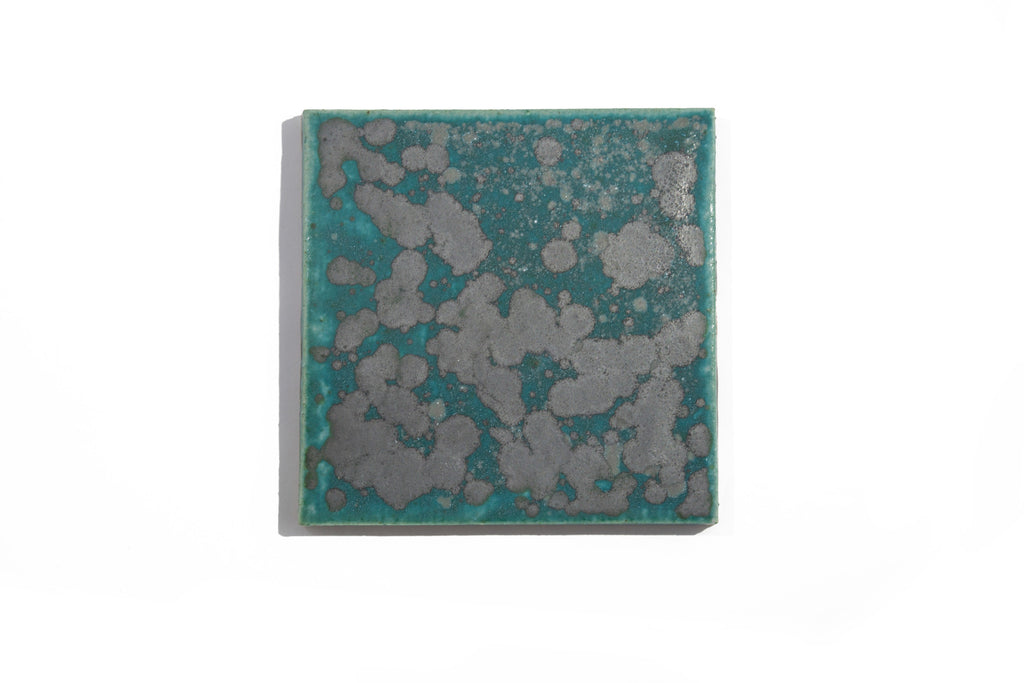 Square Architectural Tile - Barium Blue