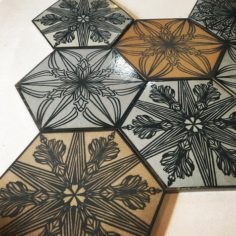 Swoon: Full Set of 2016 Silkscreen Tiles