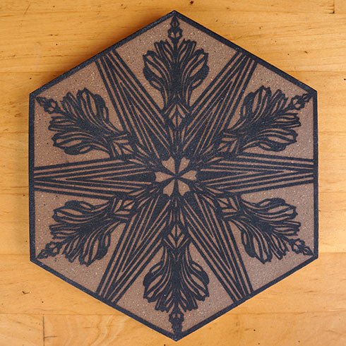 Swoon: 2017 Silkscreen Tile (2)