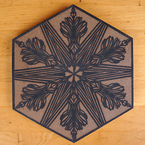 Swoon: 2018 Silkscreen Tile (2)