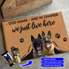 Limited Edition Custom Photo Doormat - In Charge