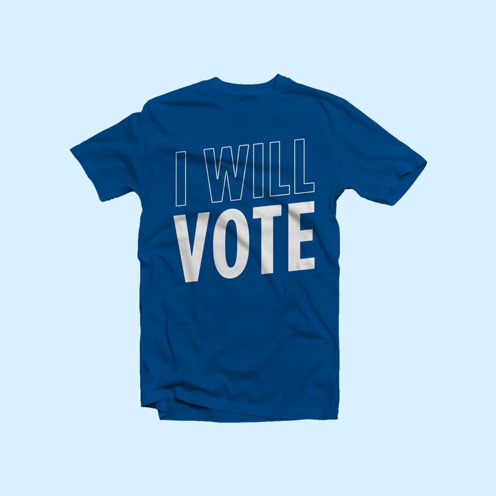 IWillVote T-shirt