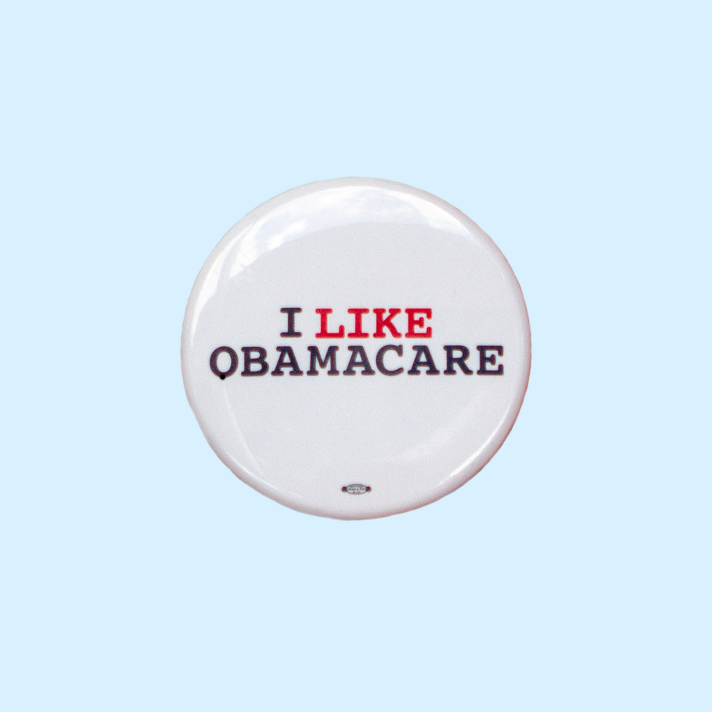 "Vintage ""I like Obamacare"" Button"