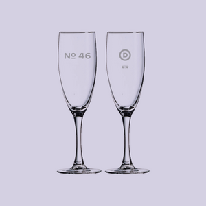 No. 46 Champagne Flute (Set of 2)