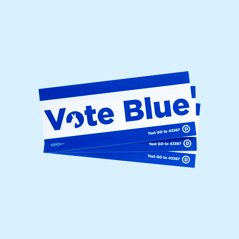 """Vote Blue"" 3-Sticker Pack"