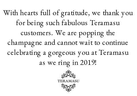 New Year, Same Fabulous You: Celebrate the New Year in Style with One-of-a-Kind Handmade Jewelry and Fashion from Teramasu