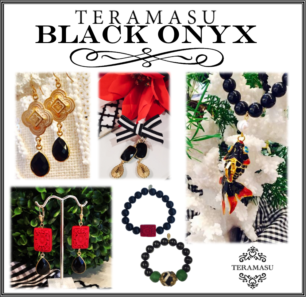 Teramasu Handmade Black Onyx Designer Jewelry: The Perfect Match for Your Little Black Dress