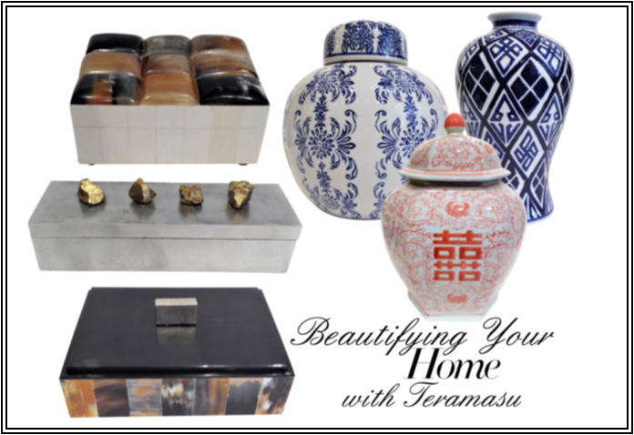 NEW Chic Peek: Beautifying Your Gorgeous Home with Teramasu