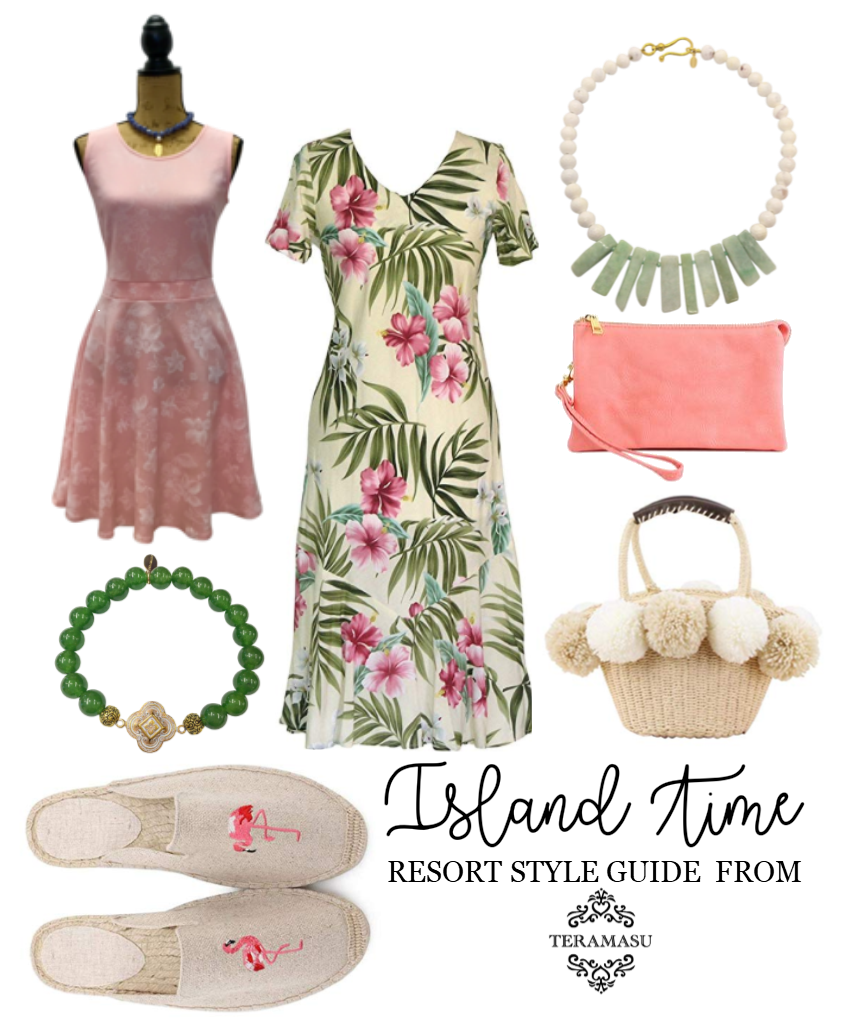 """Want It"" Wednesday: Bold and Chic, Island Time Outfit Inspiration for Your One-of-a-Kind Resort Style from Teramasu"