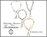 Saturday Stunners: Teramasu Handmade Pearl on Satin Lariat and Long Necklaces