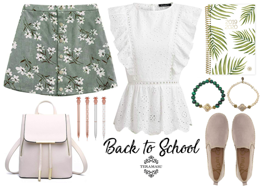 """Want It"" Wednesday: Head Back to School In Style with Chic Summer-to-Fall Outfit Inspiration from Teramasu"