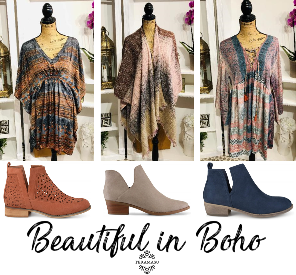 Monday Must-Haves: Beautiful in Boho Outfit Inspiration for Fall from Teramasu