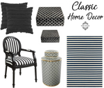 Living Ladylike: Gorgeous Classic Black and White Home Decor Inspiration from Teramasu