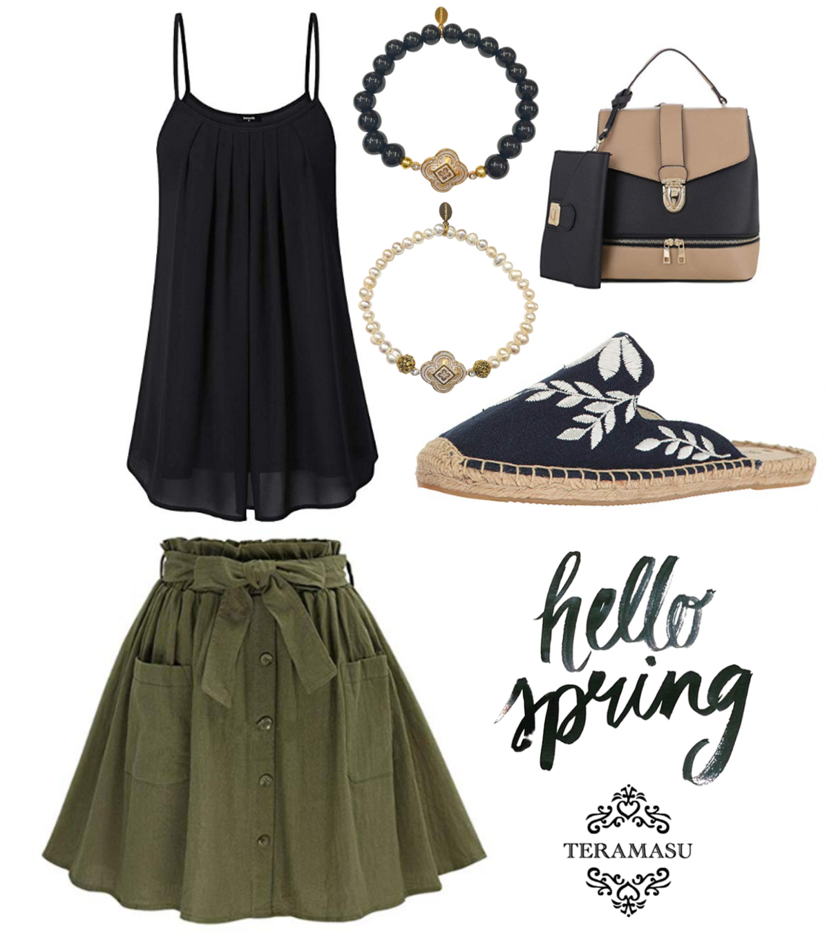 Living Ladylike: Bold Black and White Spring Outfit Inspiration for Your One-of-a-Kind Style from Teramasu