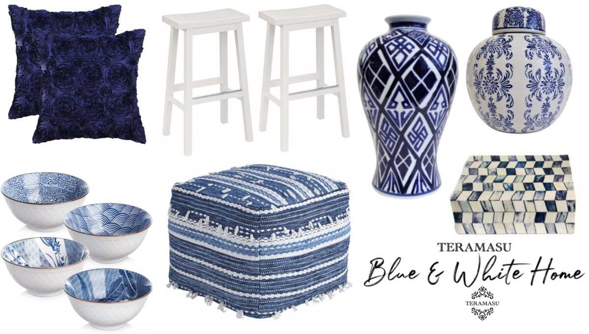 Living Ladylike: Gorgeous Blue and White Coastal Home and Lifestyle Inspiration from Teramasu