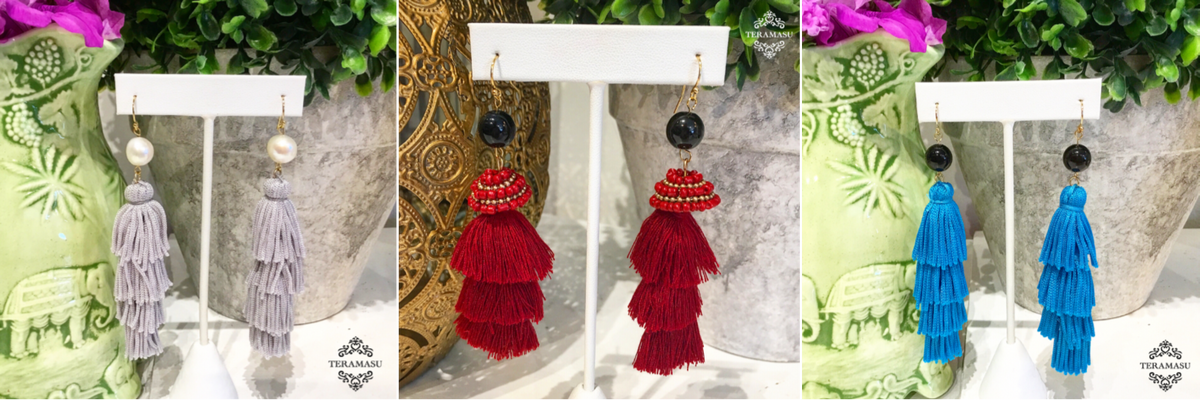 Saturday Stunners: The Perfect Boho-Chic Statement Earrings for Fall from Teramasu