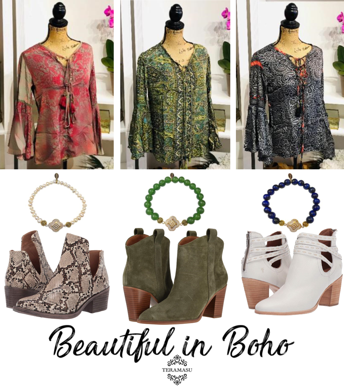 Fashion Friday: Beautiful in Boho New Arrivals and Outfit Inspiration for Fall from Teramasu