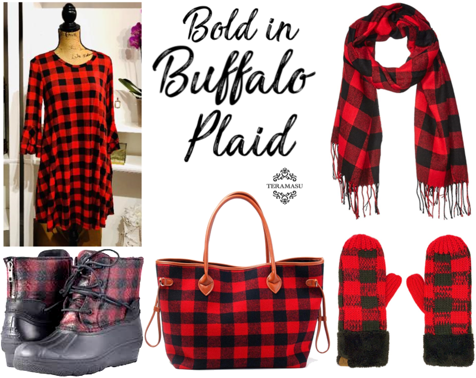 Chic Peek: Bold and Beautiful in Buffalo Plaid Style Guide for Fall From Teramasu