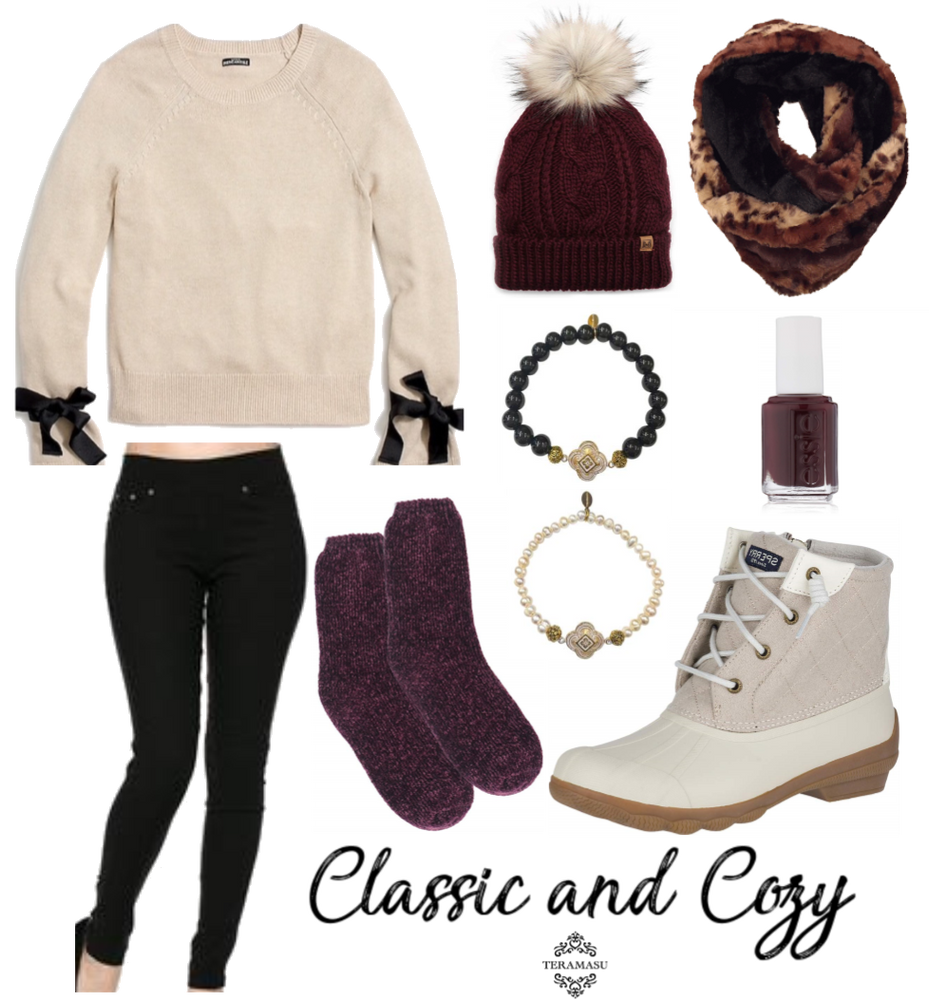 Fashion Friday: Classic and Cozy Gorgeous Outfit Inspiration for Your Fall Style from Teramasu