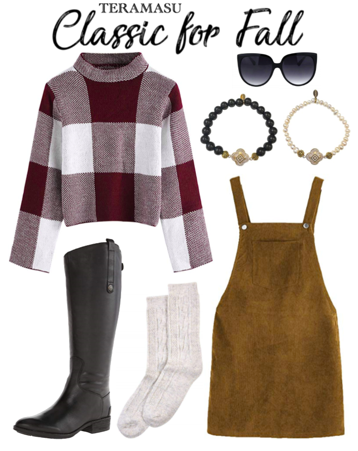 Fashion Friday: Classic Look for Fall Outfit Inspiration for Your One of a Kind Style from Teramasu