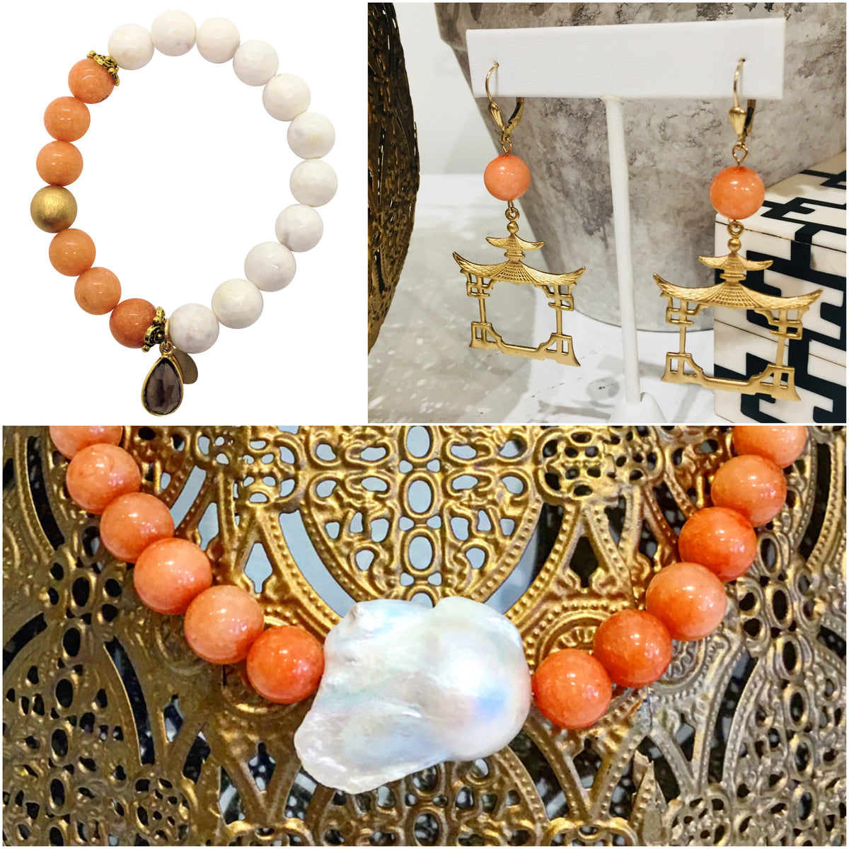Monday Must-Haves: Gorgeous, Handmade Designer Coral Jewelry Inspiration from Teramasu