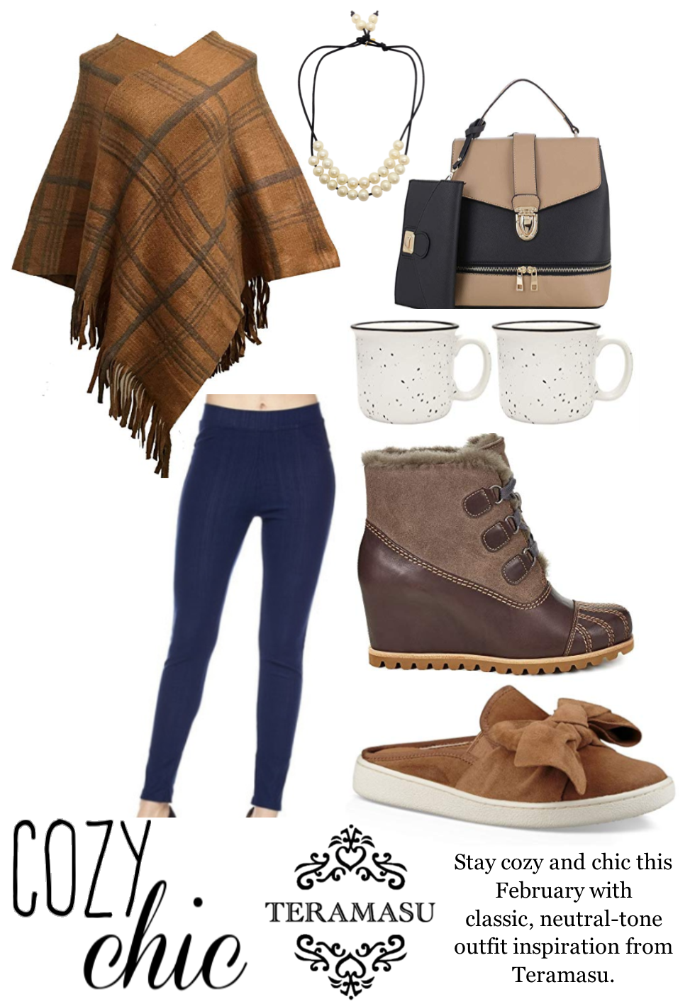 Chic Peek: Cozy & Chic Outfit Inspiration for Your Fabulous February Style from Teramasu