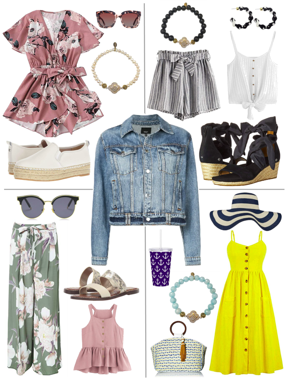 Chic Peek: Darling in a Denim Jacket Outfit Inspirations for Your Gorgeous Style from Teramasu