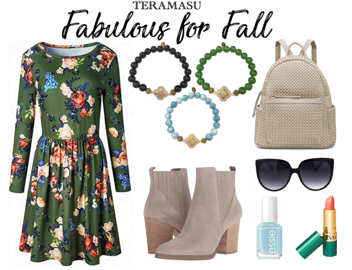 Living Ladylike: Fabulous Floral for Fall Outfit Inspiration and Style Guide from Teramasu