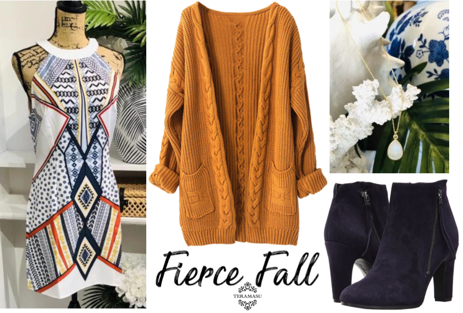Monday Must-Haves: Fierce Fall Fashion and New Outfit Inspiration from Teramasu