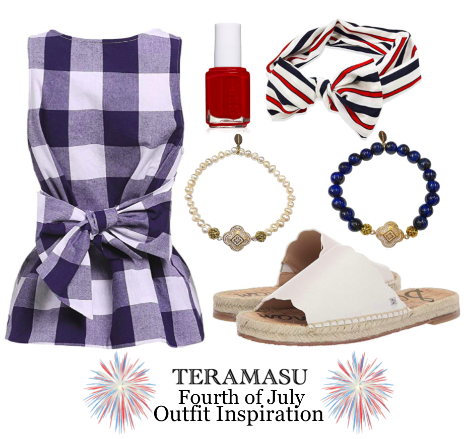 Fashion Friday: Red, White, and Blue Outfit Inspiration for the Fourth of July from Teramasu