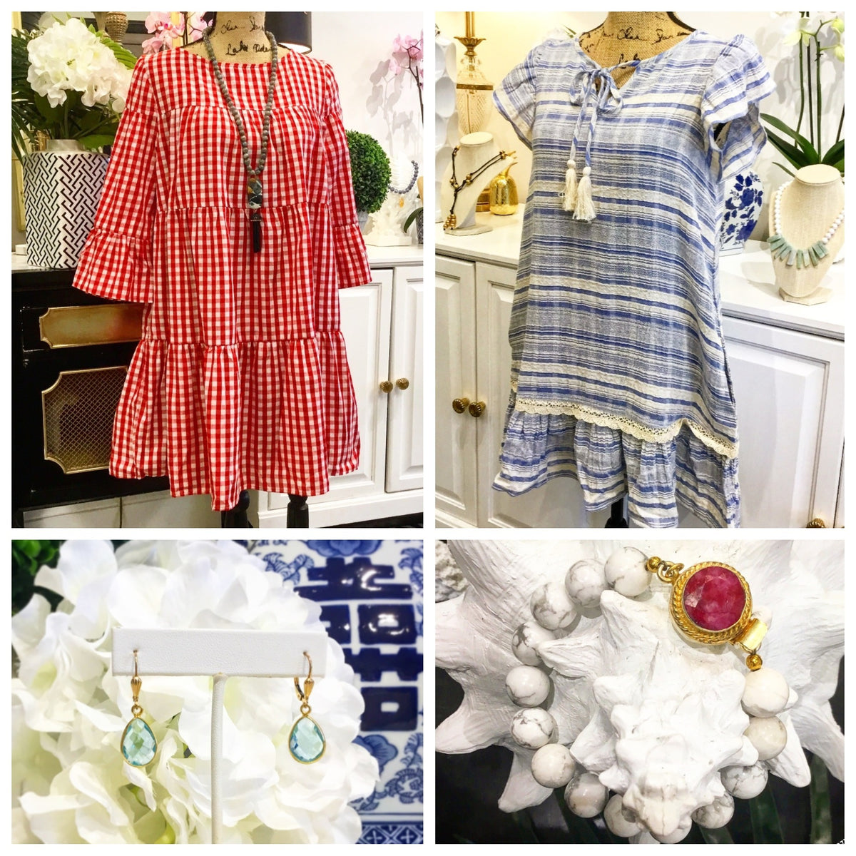 Monday Must-Haves: Fabulous & Fun Red, White, and Blue Fourth of July Fashion from Teramasu
