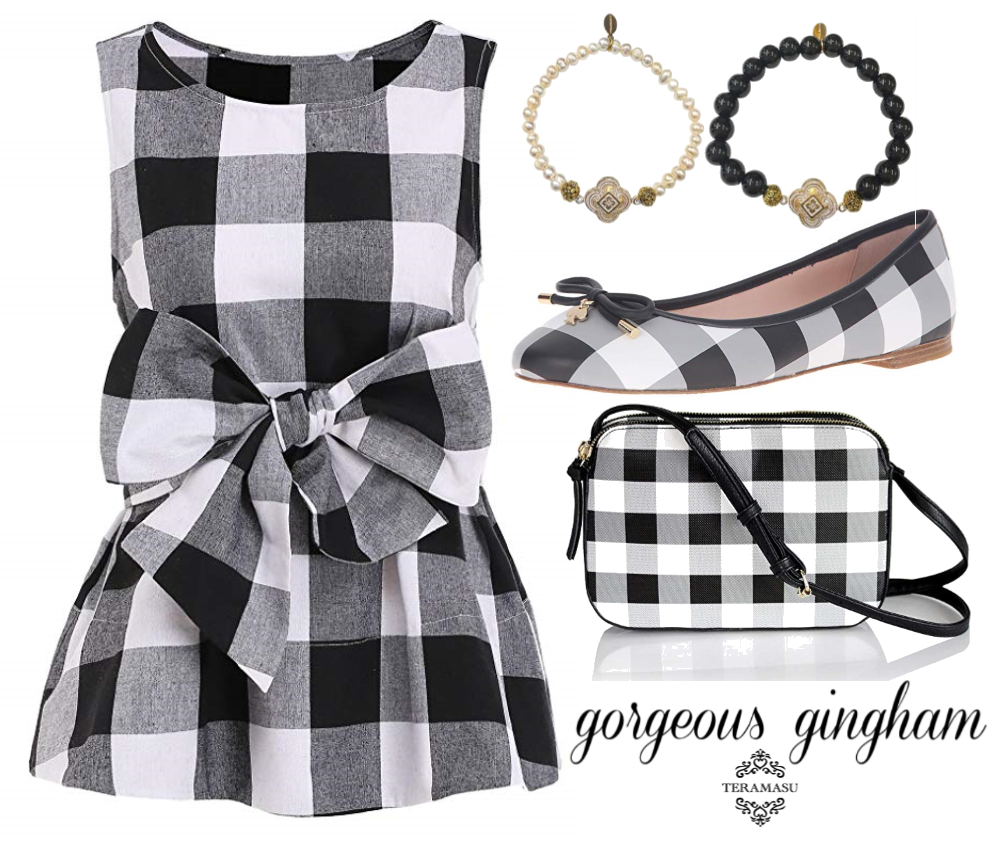 Stylin' Saturday: Gorgeous Gingham Style Guide from Teramasu