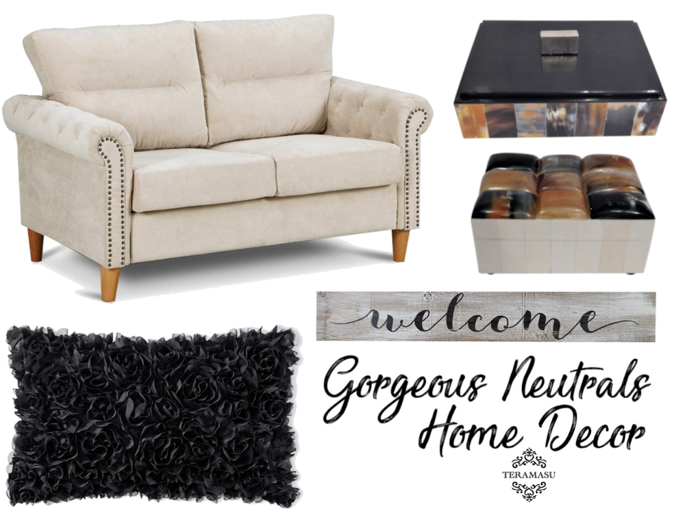 """Want It"" Wednesday: Gorgeous Neutrals Home Decor Inspiration for Your Fabulous Fall Lifestyle from Teramasu"