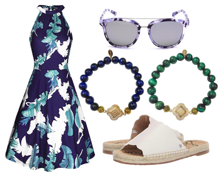 Living Ladylike: Coastal Summer Outfit Inspiration from Teramasu