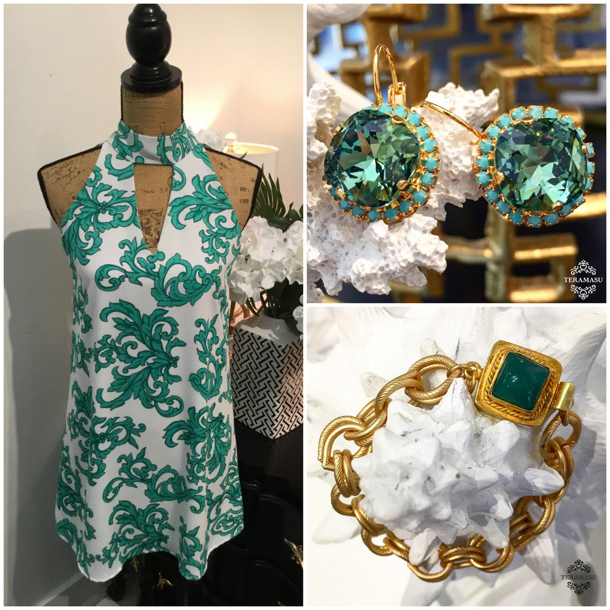 Fashion Friday: Chic & One-of-a-Kind, Green Outfit Inspiration for Summer to Fall from Teramasu