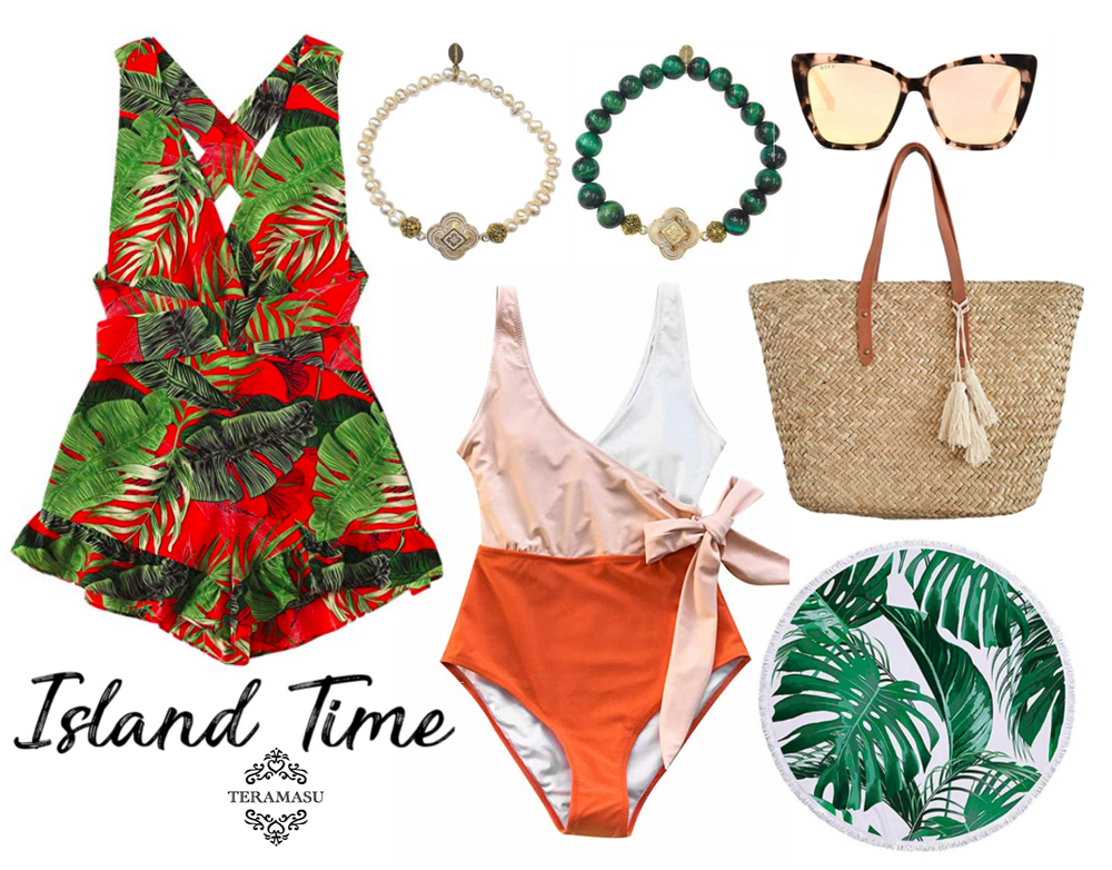 Monday Must-Haves: Chic and Bold Colorful Outfit Inspiration for Your Island Summer Style from Teramasu
