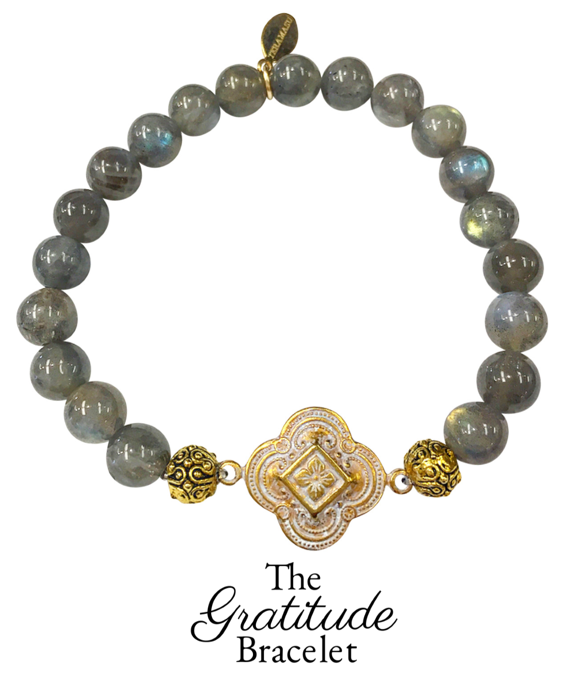 Monday Must-Have: Gorgeous & New, Handmade Designer Teramasu Gratitude Bracelet in Labradorite from the Teramasu Gratitude Collection