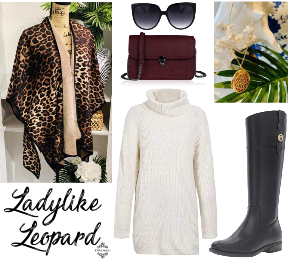 Monday Must-Have: Ladylike in Leopard and Lockets Outfit Inspiration for Your One of a Kind Style from Teramasu