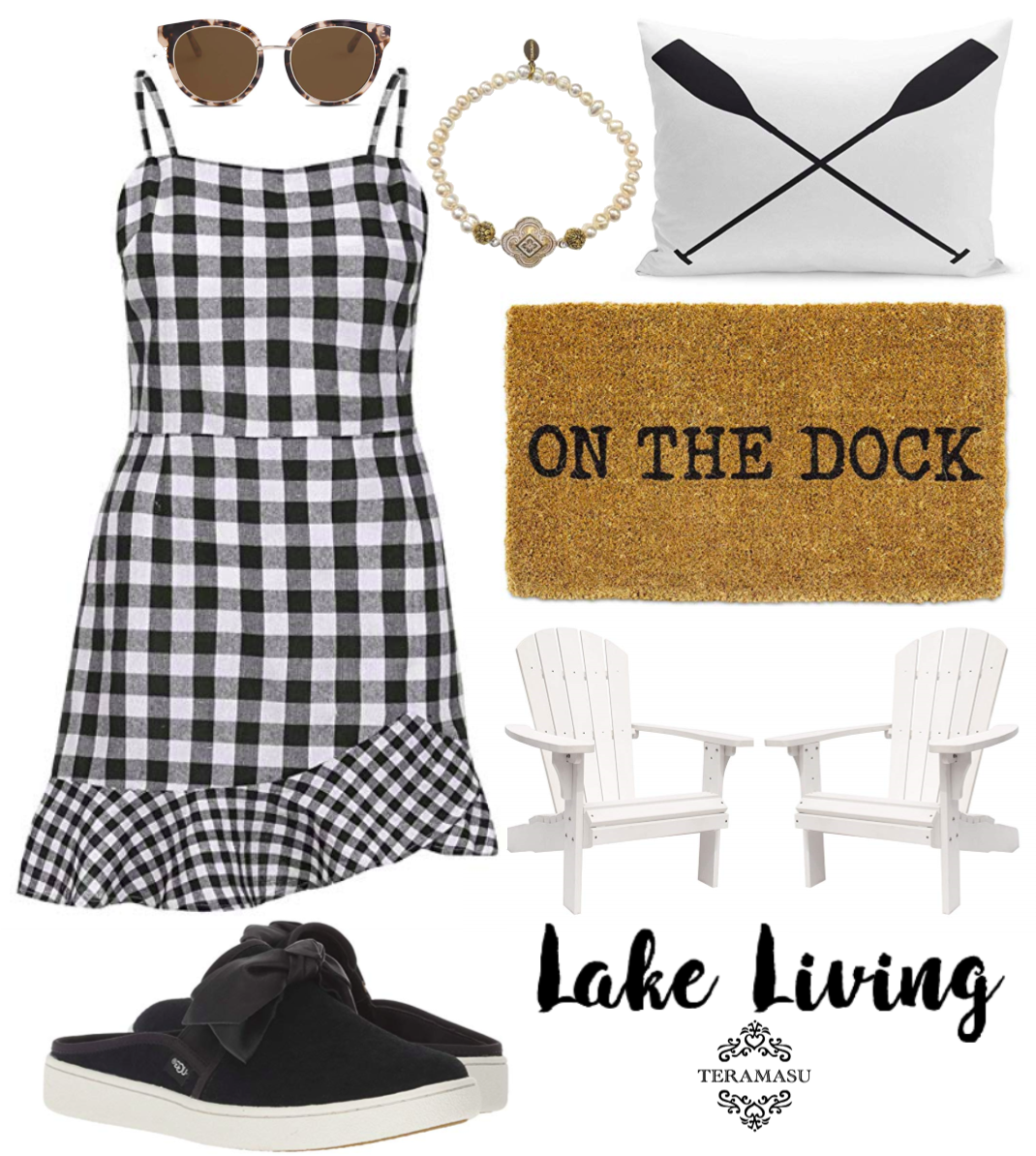 Monday Must-Haves: Lake Living Summer Style Guide from Teramasu