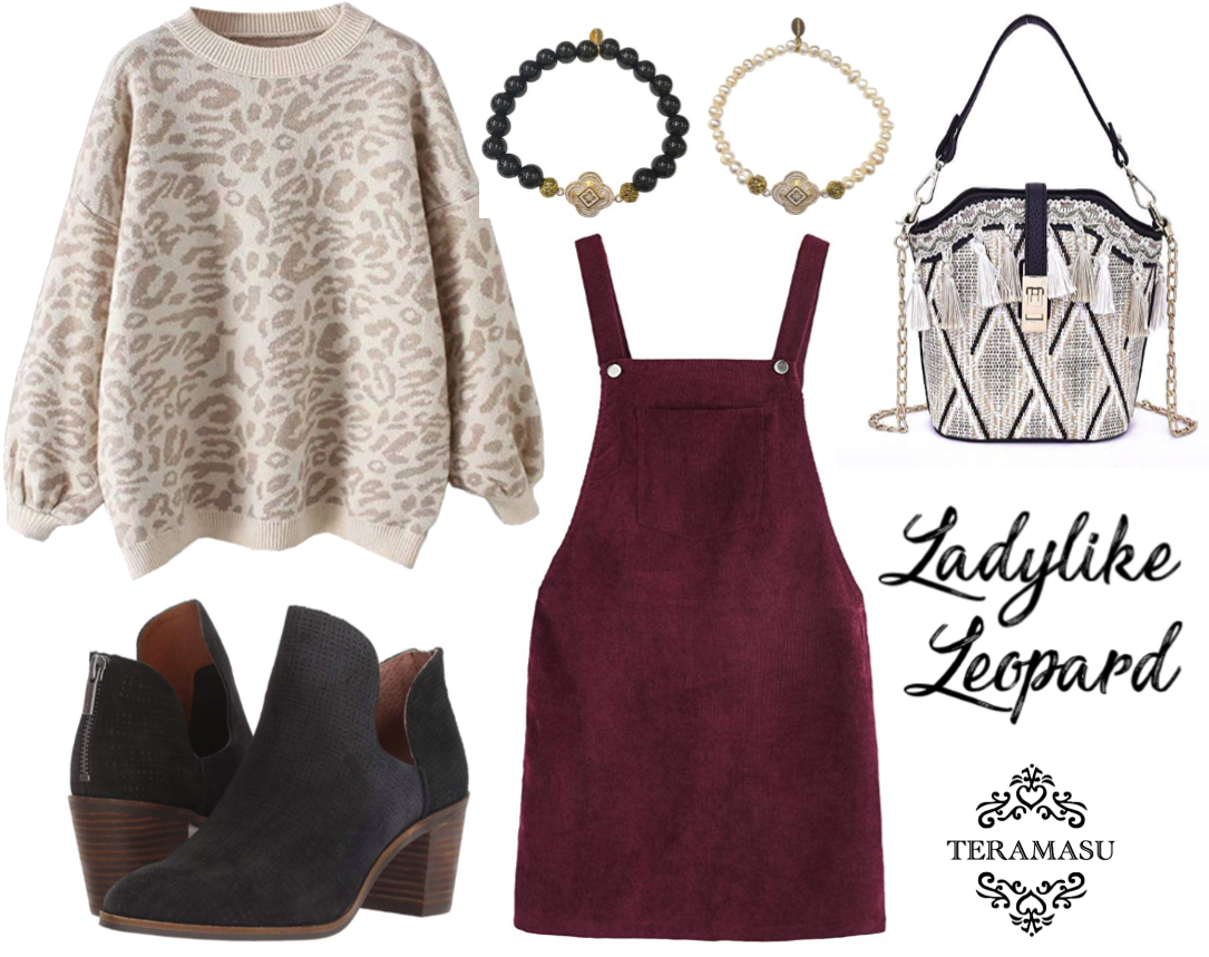 Fashion Friday: Ladylike in Leopard Outfit Inspiration for Your One of a Kind Style from Teramasu