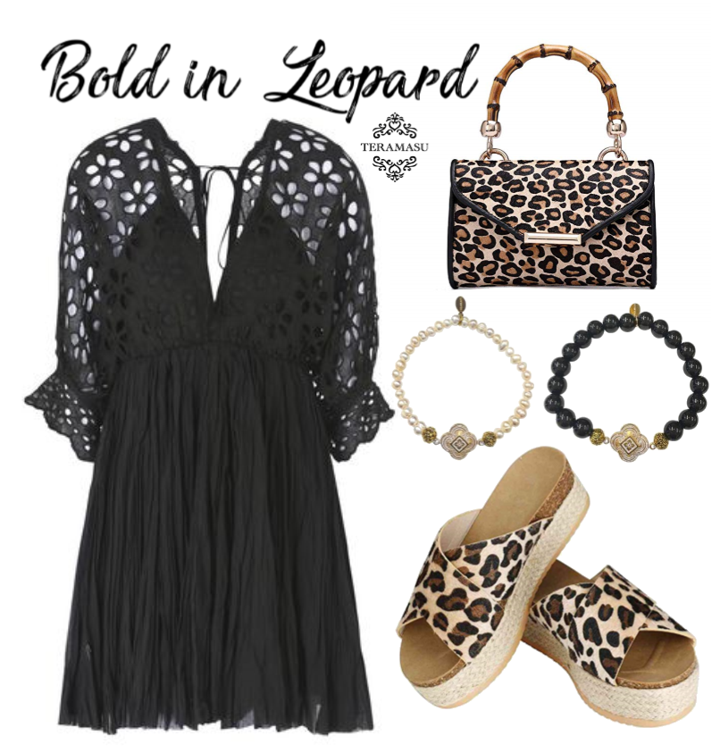 Monday Must-Haves: Add a Leopard Printed Flare to Your Black and White Style with Outfit Inspiration from Teramasu