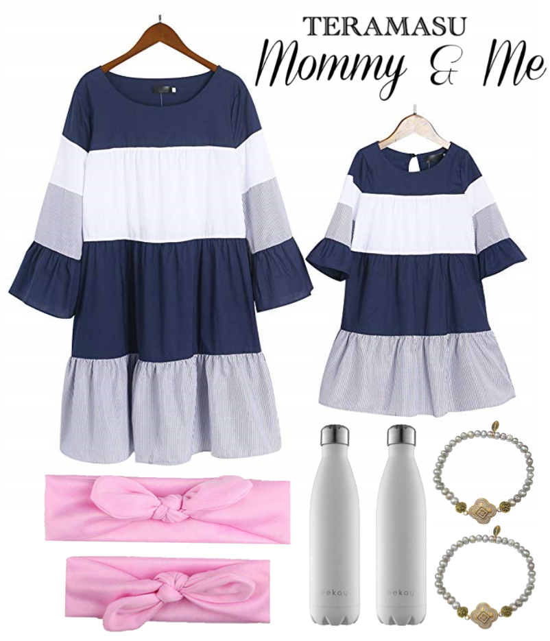 Living Ladylike: Preppy, Chic Mommy & Me Outfit Inspiration from Teramasu