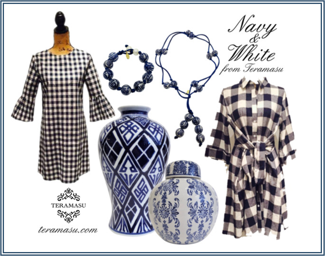 Monday Must-Haves: Gorgeous Navy & White Fashion from Teramasu