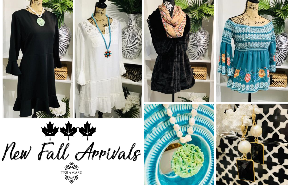 Teramasu has Gorgeous New Fall Arrivals for Your One of a Kind Style!