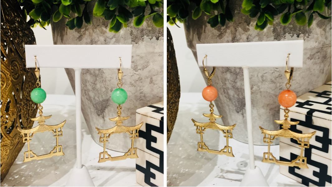 Saturday Stunners: Gorgeous, New Additions to the Teramasu Pagoda Earring Collection