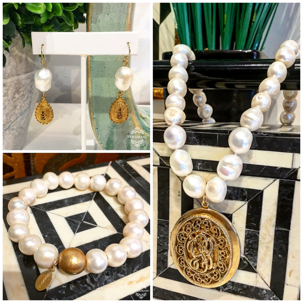 Fashion Friday: Fabulous New Arrivals & Classic Pearl Jewelry Inspiration for Your One-of-a-Kind Style from Teramasu