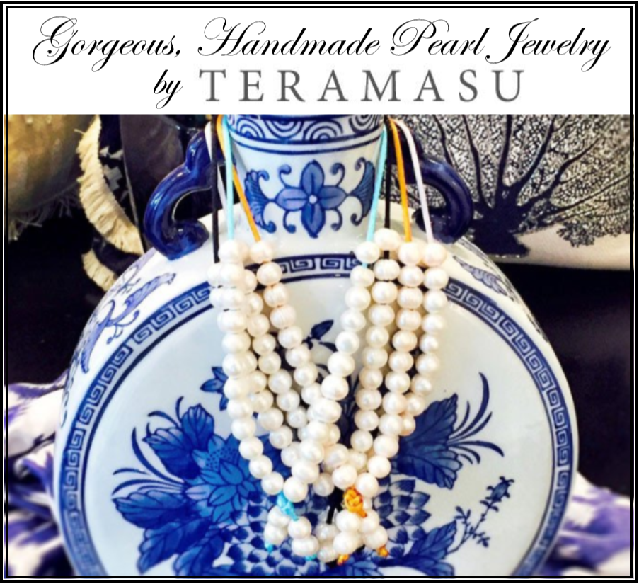 What-To-Wear Wednesday: Gorgeous, Handmade Pearl Jewelry by Teramasu